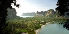 Rayavadee ∞   Krabi, Thailand -   Rayavadee is a 26-acre property in Krabi, one of Thailand's lesser-known provinces.