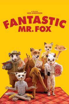 Fantastic Mr. Fox. Starring George Clooney, Meryl Streep & Jason Schwartzman. Directed by Wes Anderson.