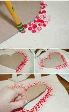 DIY Tote Bag - Make This Fabulous Heart Tote Bag with a Pencil!, DIY Tote Bag - Make This Fabulous Heart Tote Bag with a Pencil! Easy DIY Tote bag from Clumsy Crafter for Valentine& day. Unique Valentines Day Gifts, Valentine Day Crafts, Holiday Crafts, Kids Valentines, Valentine Ideas, Homemade Valentines Day Cards, Mothers Day Crafts, Christmas Gifts, Christmas Tree