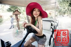 Korean version of the hat sun hat ,beach hat