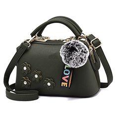 60dcc31cda009 Dei QI Frauen Taschen Handtaschen Schultertasche Messenger Bags Bequeme  Klassische Kissen Mode Dreidimensionale Blumen Tasche (
