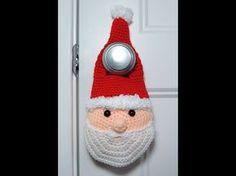 Patrón papá Noel para la puerta