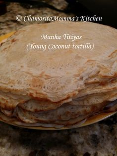 Another island treat that's yummy goodness all around.) frozen YOUNG coconut, thawed (reserve liquid) 1 can coconut milk 1 oz. can) Coconut wate. Guam Recipes, Cooking Recipes, Chamorro Recipes, Chamorro Food, Yummy Treats, Yummy Food, Healthy Food, Healthy Eating, Best Sweets
