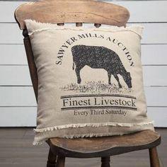 August Grove Surikova Farmhouse 100% Cotton Pillow & Reviews | Wayfair