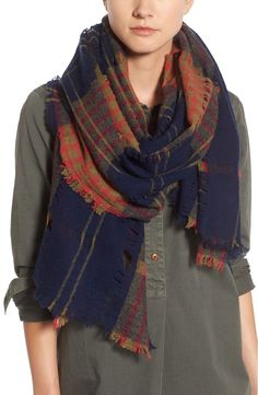 This plaid Madewell scarf is made of breathable wool to keep warm without feeling stuffy. Will definitely have to pick one up from the Anniversary Sale.