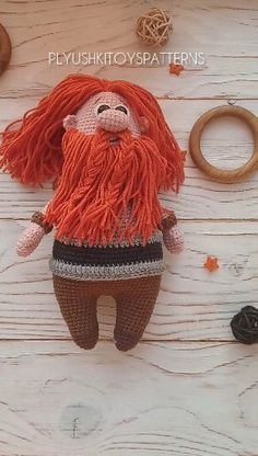 Viking crochet pattern You buy a crochet toy viking pattern in English, not a finished toy! The crochet pattern … Crochet Patterns Amigurumi, Amigurumi Doll, Crochet Dolls, Knitting Patterns, Cute Crochet, Crochet Baby, Viking Pattern, Soft Dolls, Stuffed Toys Patterns