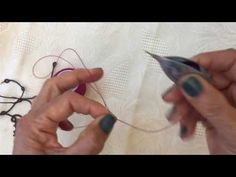 Tatting - The Josephine Petal - YouTube