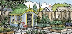 Easy DIY garden shed plans from MOTHER EARTH NEWS magazine.