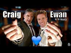 Ewan McGregor - Craig's Little Brother - 4/4 Visits In Chronological Order - YouTube
