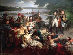 Napoleon's return to the island of Lobau after the Battle of Aspern-Essling