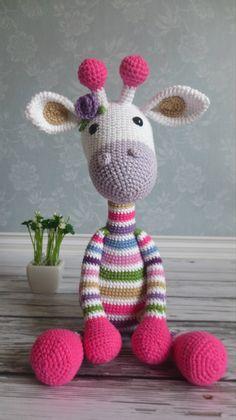 Lovely Crochet an Amigurumi Rabbit Ideas Mesmerizing Crochet an Amigurumi Rabbit Ideas. Lovely Crochet an Amigurumi Rabbit Ideas. Crochet Giraffe Pattern, Crochet Toys Patterns, Amigurumi Patterns, Crochet Crafts, Crochet Projects, Diy Crafts, Crochet Teddy, Love Crochet, Crochet Dolls