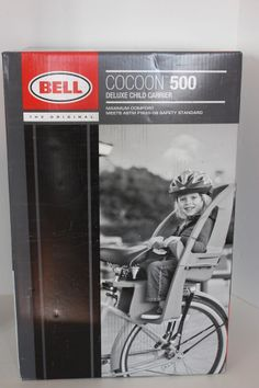 Bell Sports Cocoon 500 Deluxe Bike Carrier - Gray NIB NEW
