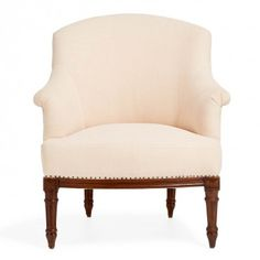 ABC Home & Planet Pure Vintage Cream Hemp Armchair