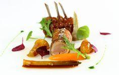 Recette d'agneau et légumes épicés par Arnaud Lallement