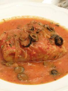 Baccala al Pomodoro e Olive | PaneeCioccolatoblog