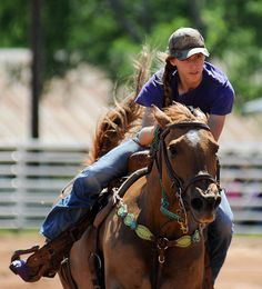 I always wanted to be a barrel racer when I was little<3 Actually, I still want to be a barrel racer