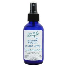 Mermaid Sea Salt Hair Spray - water, sea salt, aloe vera, glycerine, rose geranium and palmarosa essential oils Sea Salt Hair, Sea Salt Spray For Hair, Brows On Fleek, Making Waves, Beach Hair, Along The Way, Summer Hairstyles, Hair And Nails, Hair Care