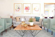 Proyectos archivos   El Blog del Decorador Living Comedor, Throw Pillows, Bed, Interior, Home, Colorful, Sentence Building, Exposed Rafters, Planner Decorating