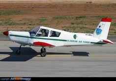 Fernas-142 (algerian licence-built version of Zlin Z-142) 7T-WQL, Algerian Air Force (1987)
