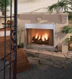 14 great outdoor fireplaces images outdoor fireplaces gas rh pinterest com