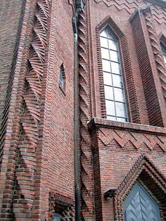 Architecture and design - tumbling with brickwork Brick Architecture, Amazing Architecture, Architecture Details, Masonry Work, Brick Masonry, Brick Cladding, Brick Facade, Brick Images, Brick Projects