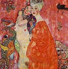 """"""" The Women Friends by Gustav Klimt """""""