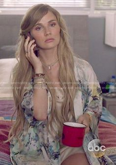 Scarlett's floral robe on Nashville Nashville Scarlett, Nashville Tv Show, Scarlett O Connor, Oc Fanfiction, Clare Bowen, Summer Outfits, Cute Outfits, Cool Style, My Style