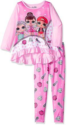 LOL Surprise Girls Rock The Beat 2-Piece Pajamas
