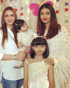 Esha deol daughter so cuute Aishwarya Rai Photo, Actress Aishwarya Rai, Aishwarya Rai Bachchan, Bollywood Actress, Amitabh Bachchan, Kids Ethnic Wear, Hema Malini, Indian Designer Suits, Kurti Neck Designs