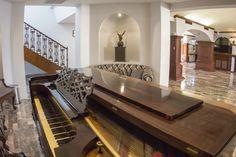 Recepción del Hotel Posada de Tampico.