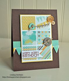 I am back today with Card Patterns newest sketch. I hope you all enjoyed this past weeks Anniversary festivities, . Cute Birthday Cards, Handmade Birthday Cards, Greeting Cards Handmade, Scrapbooking, Scrapbook Cards, Card Patterns, Card Making Inspiration, Card Sketches, Your Cards