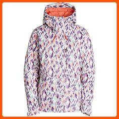 7c34c8215db29f Billabong Junior's Akira Printed Snow Jacket, Ikat, L - All about women (*