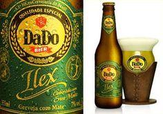 """DaDo Bier Ilex (""""cerveja de chimarrão""""). Cervejaria DaDo Bier. Santa Maria-RS. #brazil #beer"""