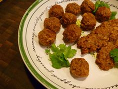 """""""I have been experimenting with various vegetable proteins trying to come up with the perfect recipe that would work well for vegetarian """"meatballs"""". There are plenty out there b…"""