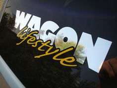 Wagon Lifestyle decal