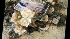 ''Treasure'' - Mixed Media Layout Tutorial for 2Crafty Chipboard