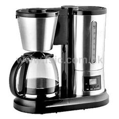 1.8L Drip Coffee Maker with Glass Carafe