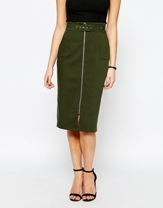 Image 4 ofLove Structured Pencil Skirt