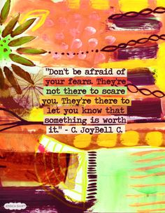 Don't be afraid of your fears. #inspirational #RecoveryQuotes #life