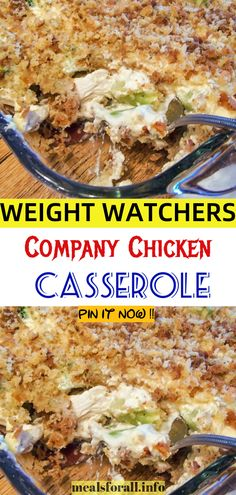 Country Chicken And Dressing Casserole Ingredients 3 pounds of cooked, boned, and skinned Tyson chicken(or boneless breast pieces) 1 can of Campbell's cream of chicken soup 1 can of Campbell's cream of celery soup 1 small can of Pet milk 1 Skinny Recipes, Ww Recipes, Veggie Recipes, Slow Cooker Recipes, Chicken Recipes, Healthy Recipes, Recipies, Weight Watchers Casserole, Weight Watchers Diet