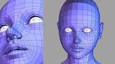 Human Head Modeling [HD] Slow Reproduction Version : 牛山雅博