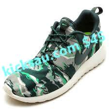 finest selection 40534 220a7 What happens when an irresistible force meets an immovable object  You get  a camouflage pack of the Nike Roshe Run, wherein a tiger-stripe variety of  the