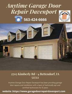 Find the best garage door opener repair & installation near Davenport IA. Visit us now. Garage Door Opener Parts, Garage Door Opener Installation, Best Garage Doors, Garage Door Repair, Garage House, Confused, Relationship, House Styles, Relationships