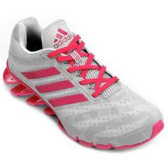 Tênis Adidas Springblade Ignite - Prata+Rosa