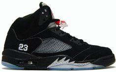 official photos edc71 2d9a6 Metallic 5s Nike Air Jordan 5, Jordan V, Dressed To Kill, Black Silver