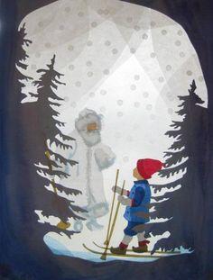 Winterkönig von Art 4 Windows auf DaWanda.com Art N Craft, Diy Art, Paper Art, Paper Crafts, Waldorf Crafts, Classroom Crafts, Star Art, Nature Crafts, Christmas Projects