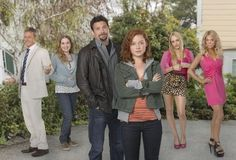 SUBURGATORY | Wednesdays on ABC (8:30 ET)    Single father George only wants the best for his 16-year-old daughter, Tessa. So when he finds a box of condoms on her nightstand, he moves them out of their apartment in New York City to a house in the suburbs. But all Tessa sees is the horror of over-manicured lawns and plastic Franken-moms. Being in the 'burbs can be hell, but it also may just bring Tessa and George closer than they've ever been.