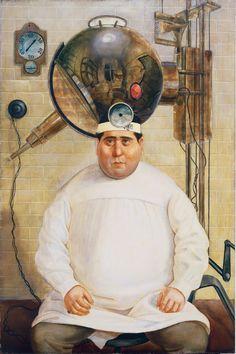 Otto Dix - portrait of Dr. Hermann Mayer
