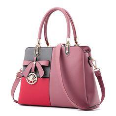 Multi Color Women Buckle Handbags