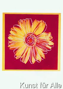 Daisy, c. 1982 (Fuchsia and Yellow) Art Block by Andy Warhol by McGaw Graphics at Gilt Andy Warhol Pop Art, Andy Warhol Museum, Andy Warhol Prints, Warhol Paintings, Pittsburgh, Mondrian, James Rosenquist, Yellow Wall Art, Art Abstrait